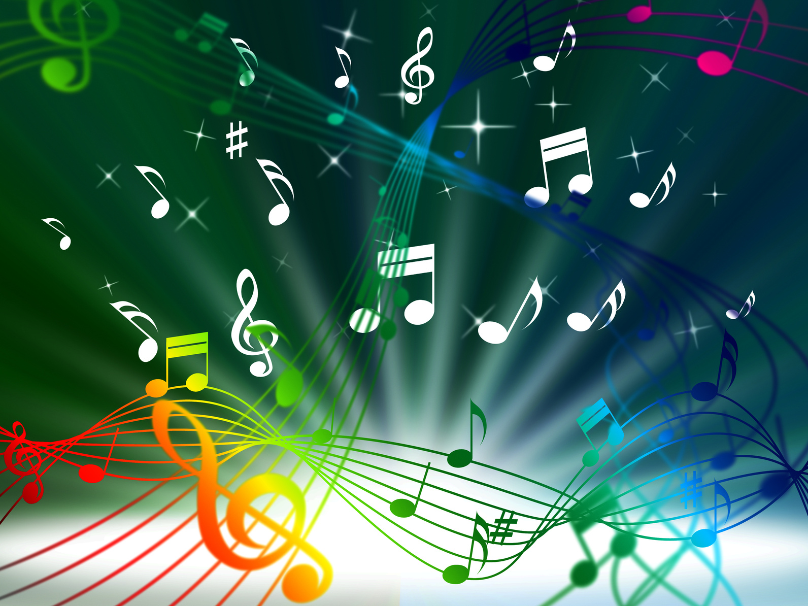 Green Music Background Meaning Tune Sounds And Piece