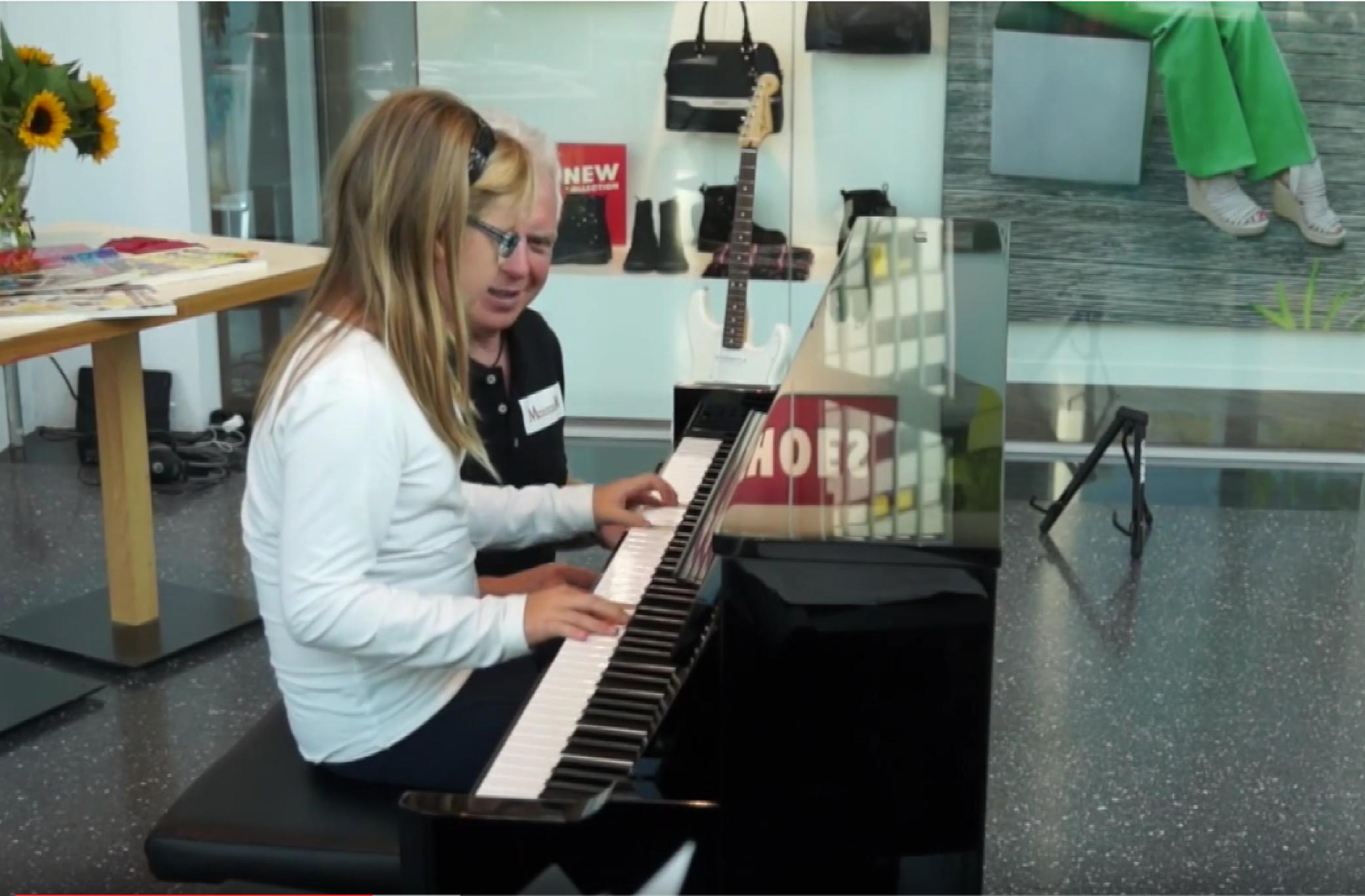 Schülerkonzert Musikschule Morel Wettingen Centerpassage